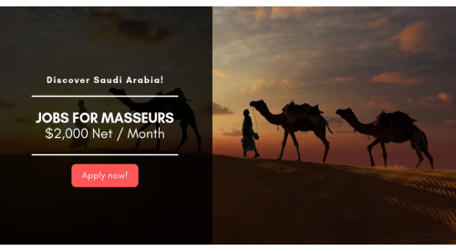 Massage Technicians in Saudi Arabia!