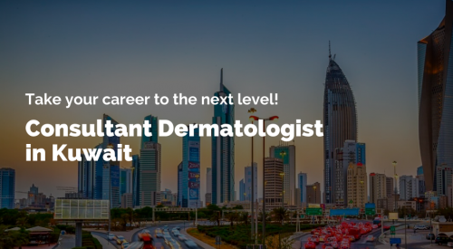 Jobs for a Consultant Dermatologist in Kuwait