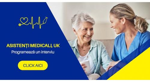 Job Asistent Medical  cu PIN in UK