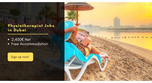 Jobs for Physiotherapist in Dubai!