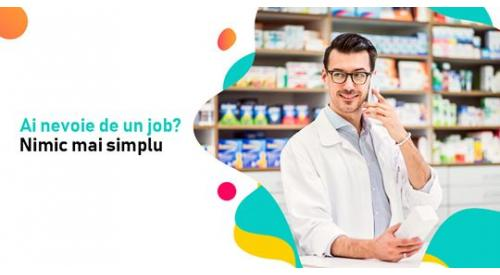 Job Asistenti Medicali Farmacie in Romania