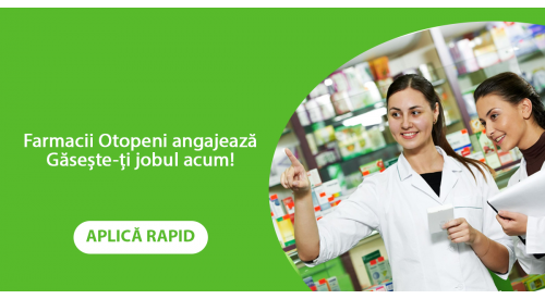 Job Asistent de farmacie in Otopeni