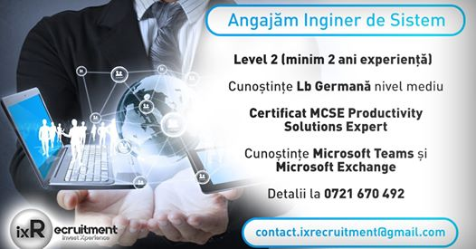 System Engineer with German | Timisoara